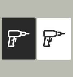 drill - icon vector image