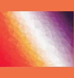 abstract geometric red orange purple triangular vector image