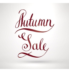 Autumn Sale Sign vector