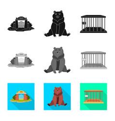 Design nature and fun icon set of vector