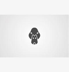 duck icon sign symbol vector image
