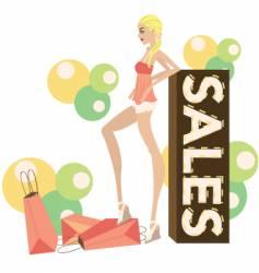 Fashion sales vector