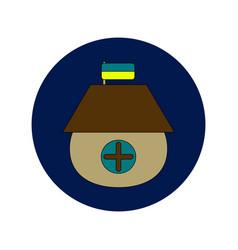 In flat design of ukrainian vector