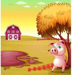 Pig Farm vector