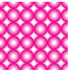 pink and white circles vector image