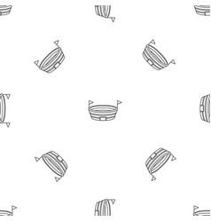 run sport arena pattern seamless vector image
