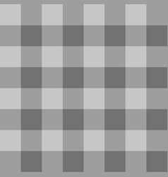 Tile grey plaid pattern or background wallpaper vector