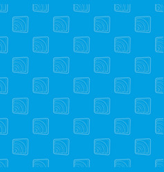 wireless network sign pattern seamless blue vector image