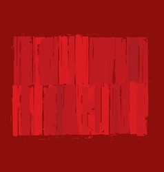 Modern art background - red vector