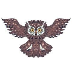 Ornamental Owl2 vector image