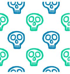skull with cross-bones vector image vector image