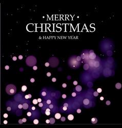merry christmasmagic holidays vector image vector image