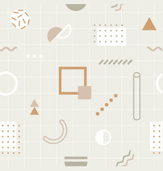 abstract background with trendy geometric vector image