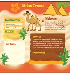 Ackground for travel website vector