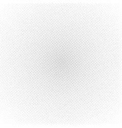 background with circles grey colored halftone vector image