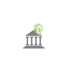 Bank money saving for logo design question asking vector