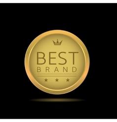 Best brand label vector