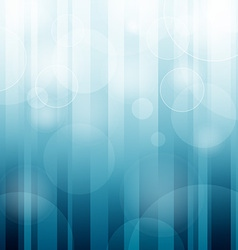 Bokeh Iceblue Background vector image