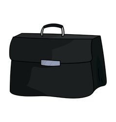 Briefcase icon in cartoon style isolated on white vector image