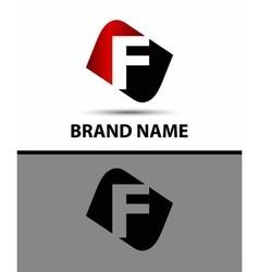 Logo f letter vector