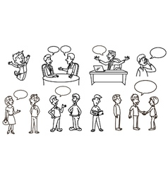 People outline 1 vector