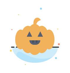 Pumpkin american usa abstract flat color icon vector