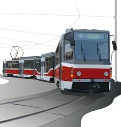Streetcar vector