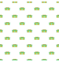 Taxi station pattern cartoon style vector image