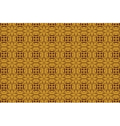 vintage abstract background of brown tracery vector image