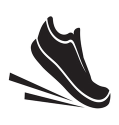 Running shoes2 resize vector image