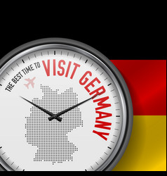 Best time to visit germany flight tour to vector