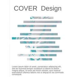 creative fluid background from current forms vector image
