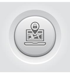Location Concept Icon vector image