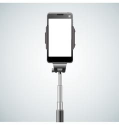 Monopod Selfie Front vector