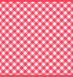 Seamless classic background red diagonal stripes vector