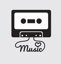 Tape cassette vector