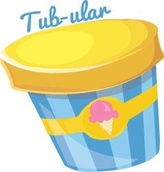 Tub-ular vector image