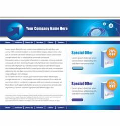 web page vector image
