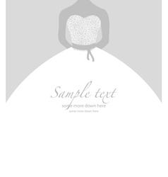 Soft wedding background vector image vector image