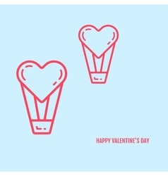 valentines day concept in vector image