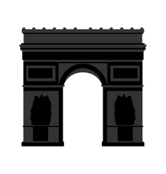 Arc de Triomphe Paris vector image