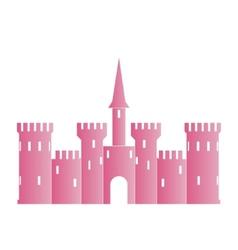 Abstract castle logo template vector