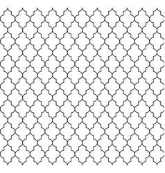 islamic seamless circular geometric figures vector image