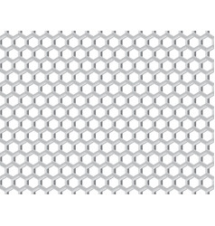 Metal grid with cells vector