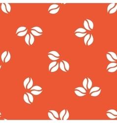 Orange coffee pattern vector