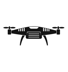 Sky drone icon simple style vector