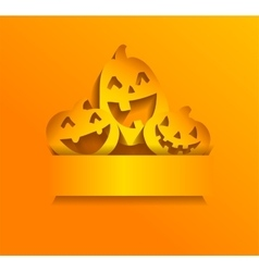 Stickers for Halloween vector