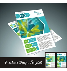 Brochure template vector