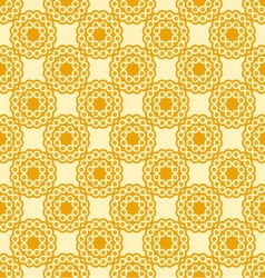circles seamless Sunny palette vector image vector image