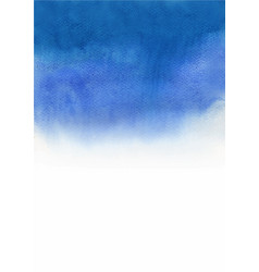 Abstract navy blue gradient background watercolor vector